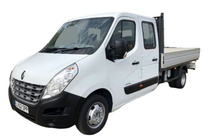 Renault Master Dropside Double Cab MWBL 35TW 4X4 2.3 dCi ENERGY DR4 145PS Business Dropside Double Cab Manual [Start Stop]