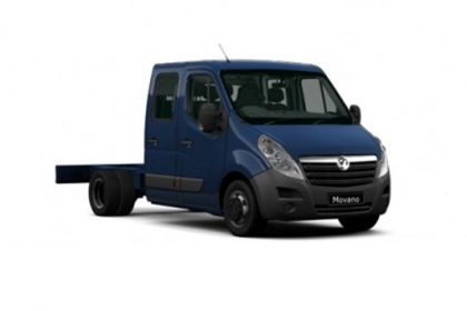 Vauxhall Movano Chassis Cab R35 L2 2.3 CDTi BiTurbo RWD 130PS  Chassis Double Cab Manual