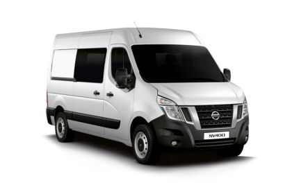 Nissan NV400 Crew Van L3 35 FWD 2.3 dCi FWD 150PS Acenta Crew Van Medium Roof Manual [Start Stop]