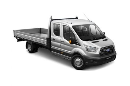 Ford Transit Dropside Double Cab 350 L4 RWD 2.0 EcoBlue RWD 130PS Leader Premium Dropside Double Cab Manual [Start Stop]