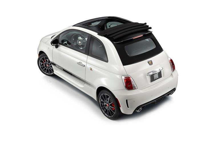 Abarth 595 C Cabrio 1.4 T-Jet 180PS Competizione 2Dr Auto back view
