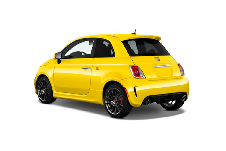 Abarth 595 Hatch 3Dr 1.4 T-Jet 165PS Turismo 70th 3Dr Manual back view