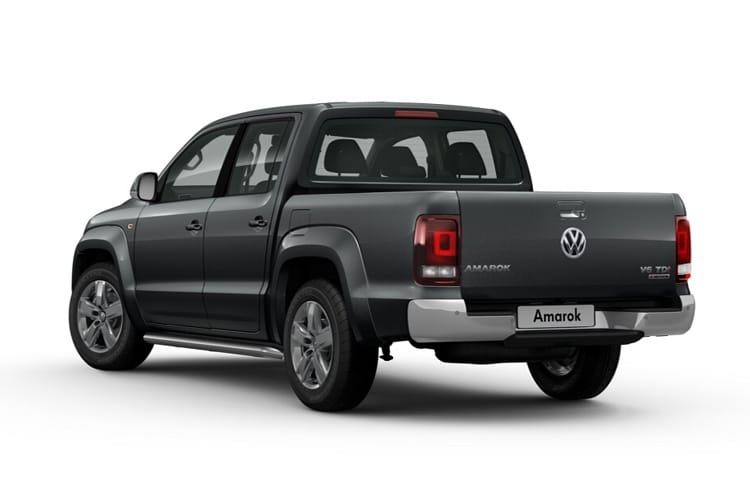 Volkswagen Amarok Pick Up DCab 4Motion 3.0 TDI V6 4WD 258PS Aventura Black Edition Pickup Double Cab Auto [Start Stop] back view