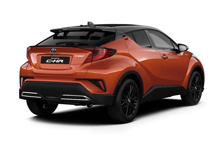Toyota C-HR 5Dr 2.0 VVT-h 184PS Excel 5Dr CVT [Start Stop] back view