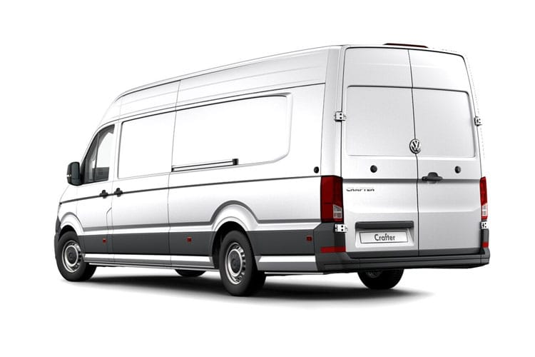 Volkswagen Crafter CR35LWB 4Motion 2.0 TDI 4WD 177PS Trendline Business Van High Roof Manual [Start Stop] back view