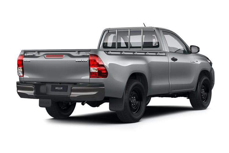 Toyota Hilux PickUp Double Cab 4wd 2.8 D-4D 4WD 204PS Invincible Pickup Double Cab Manual [Start Stop] back view