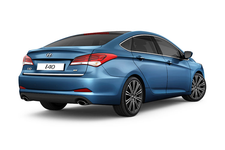 Hyundai i40 Saloon 1.6 CRDi 136PS Premium 4Dr DCT [Start Stop] back view