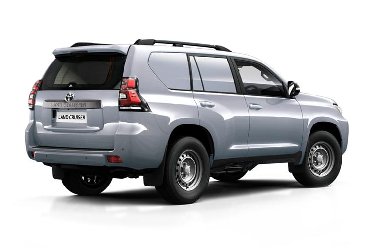 Toyota LandCruiser LCV LWB 4wd 2.8 D 4WD 204PS Active Van Auto [Start Stop] [2Seat] back view
