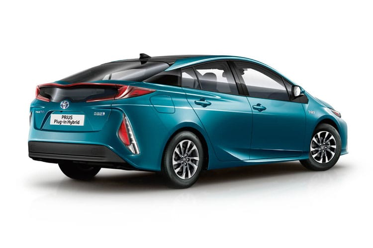 Toyota Prius Hatch 5Dr 1.8 VVT-h 122PS Business Edition Plus 5Dr CVT [Start Stop] [15in Alloy] back view