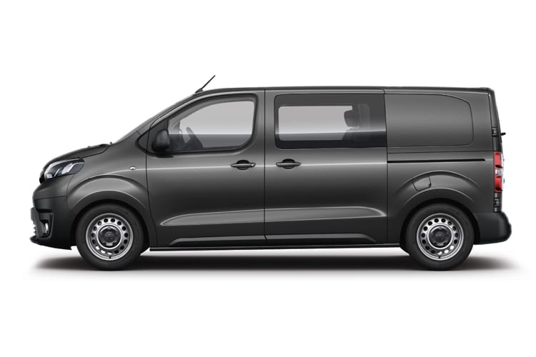 Toyota PROACE Medium 2.0 D FWD 120PS Icon Crew Van Manual [Start Stop] back view