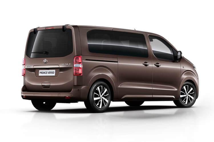 Toyota PROACE Verso Medium 2.0 D FWD 150PS Family MPV Manual [Start Stop] [8Seat Premium] back view