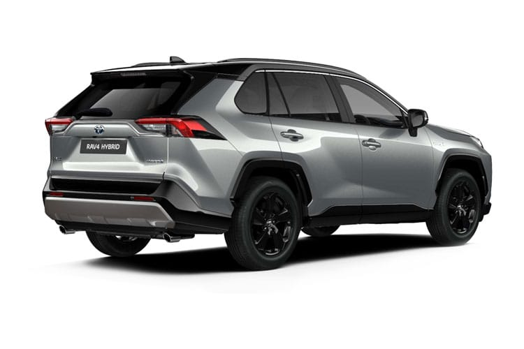 Toyota RAV4 SUV 2wd 2.5 VVT-h 218PS Excel 5Dr CVT [Start Stop] back view