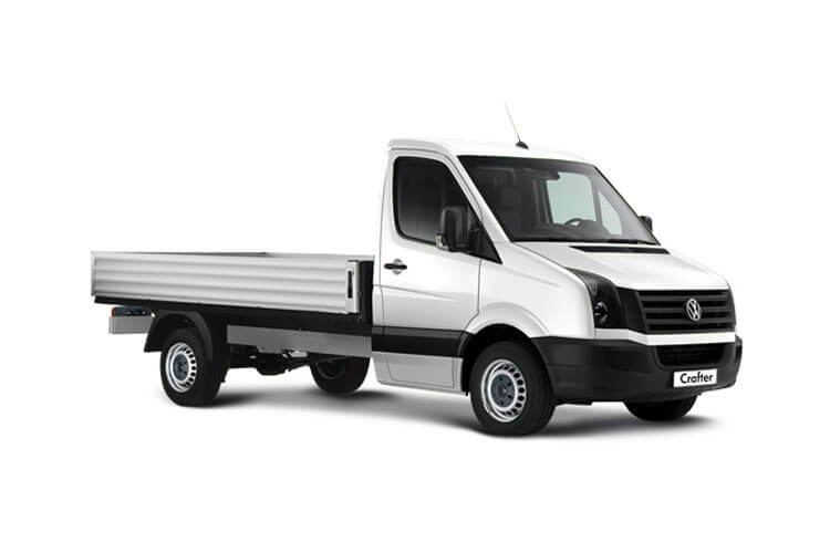 Volkswagen Crafter CR35MWB RWD 2.0 TDI RWD 140PS Startline Tipper Manual [Start Stop] [ETG] front view
