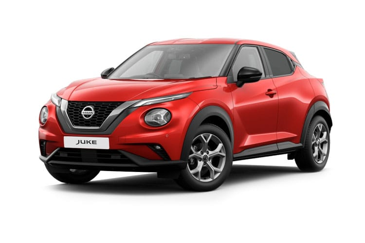 Nissan Juke SUV 1.0 DIG-T 117PS N-Connecta 5Dr Manual [Start Stop] front view