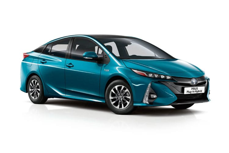 Toyota Prius Hatch 5Dr 1.8 VVT-h 122PS Business Edition Plus 5Dr CVT [Start Stop] [15in Alloy] front view