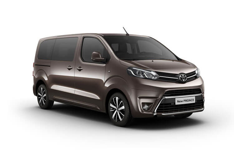 Toyota PROACE Verso Medium 2.0 D FWD 150PS Family MPV Manual [Start Stop] [8Seat Premium] front view