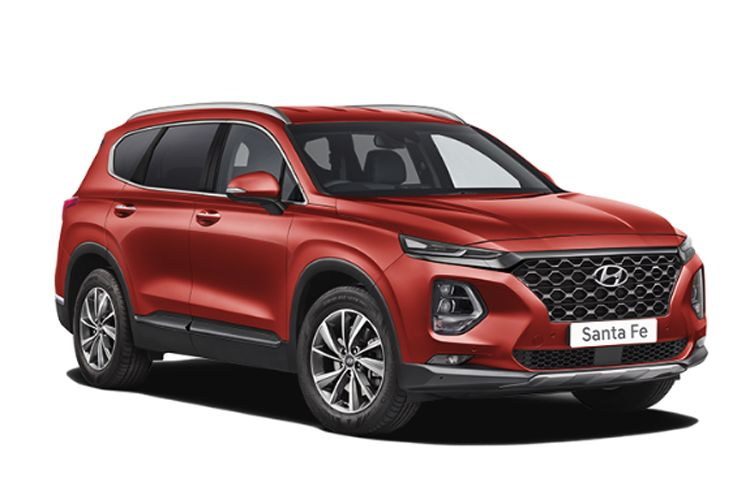 Hyundai Santa Fe SUV 4WD 1.6 T-GDi PiH 13.8kWh 265PS Premium 5Dr Auto [Start Stop] [7Seat] front view