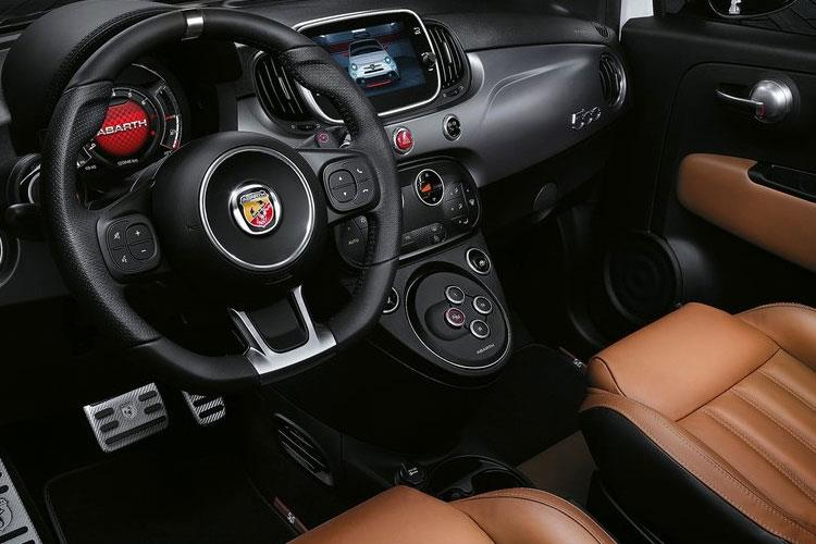 Abarth 595 Hatch 3Dr 1.4 T-Jet 165PS Turismo 70th 3Dr Manual inside view