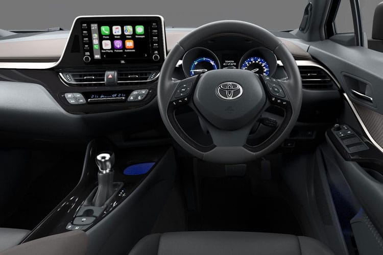 Toyota C-HR 5Dr 2.0 VVT-h 184PS Excel 5Dr CVT [Start Stop] inside view