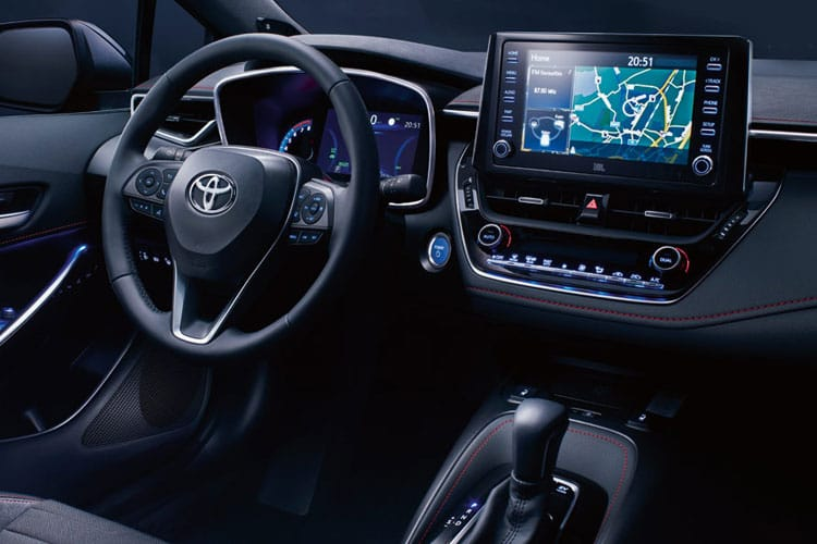 Toyota Corolla Hatch 5Dr 1.8 VVT-h 122PS GR SPORT 5Dr CVT [Start Stop] [Bi-tone] inside view
