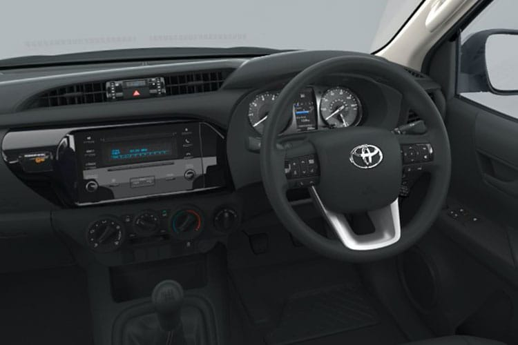 Toyota Hilux PickUp Double Cab 4wd 2.8 D-4D 4WD 204PS Invincible Pickup Double Cab Manual [Start Stop] inside view