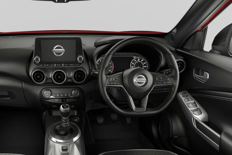 Nissan Juke SUV 1.0 DIG-T 117PS N-Connecta 5Dr Manual [Start Stop] inside view