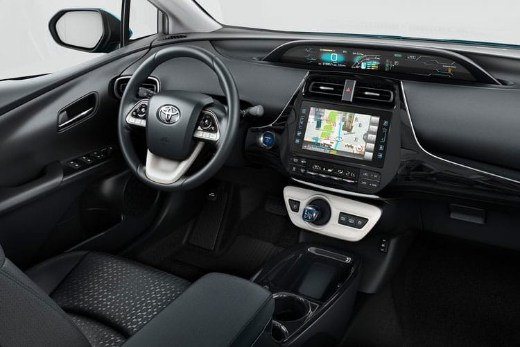 Toyota Prius Hatch 5Dr 1.8 VVT-h 122PS Business Edition Plus 5Dr CVT [Start Stop] [15in Alloy] inside view