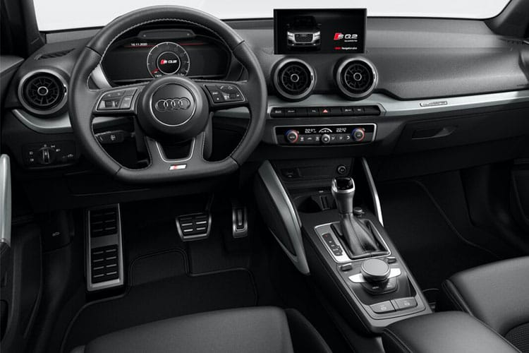 Audi Q2 35 SUV 5Dr 1.5 TFSI CoD 150PS S line 5Dr Manual [Start Stop] inside view